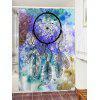 Dreamcatcher Watercolor Painting Printed Waterproof Shower Curtain - COLORMIX