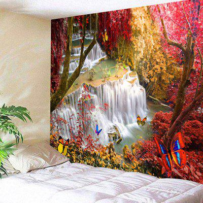 Landscape Wall Hanging Tree Tapestry