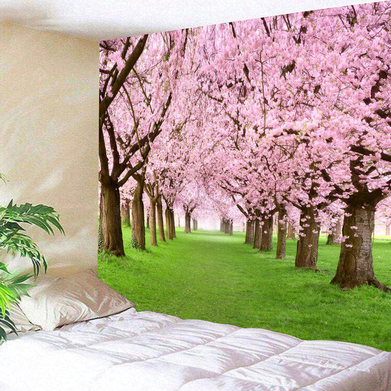 Flower Forest Print Wall Hanging Tapestry