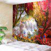 Landscape Wall Hanging Decor Tree Tapestry - COLORMIX