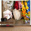 Flowers and Gift Print Wall Hanging Tapestry - COLORMIX