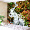 Wall Decor Stream Print Bedroom Tapestry - COLORMIX