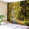 Forest Path Print Wall Hanging Tapestry - COLORMIX