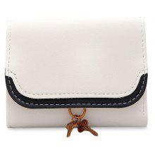 PU Leather Tri Fold Wallet