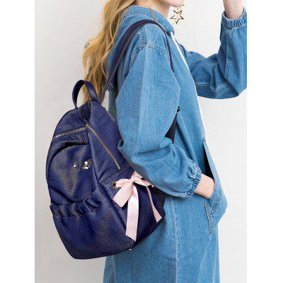 Bow Ribbon Bee Metal Embellished BackpackBackpacks<br>Bow Ribbon Bee Metal Embellished Backpack<br><br>Closure Type: Zipper<br>Gender: For Women<br>Handbag Size: Medium(30-50cm)<br>Handbag Type: Backpack<br>Main Material: PU<br>Occasion: Versatile<br>Package Contents: 1 x Backpack<br>Pattern Type: Insect<br>Size(CM)(L*W*H): 24*14*36CM<br>Style: Fashion<br>Weight: 1.2000kg