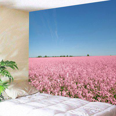 Wall Hanging Flower Field Scenery Print Tapestry