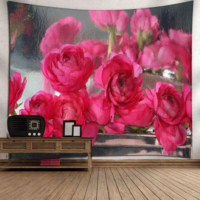 Wall Hanging Rose Flowers Pattern TapestryTapestries<br>Wall Hanging Rose Flowers Pattern Tapestry<br><br>Feature: Removable, Washable<br>Material: Cotton, Polyester<br>Package Contents: 1 x Tapestry<br>Shape/Pattern: Floral<br>Style: Romantic<br>Weight: 0.3450kg