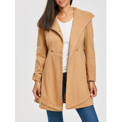 Double Breasted Wool Trench Coat