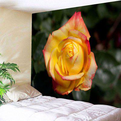 Valentine's Day Rose Pattern Wall Hanging Tapestry