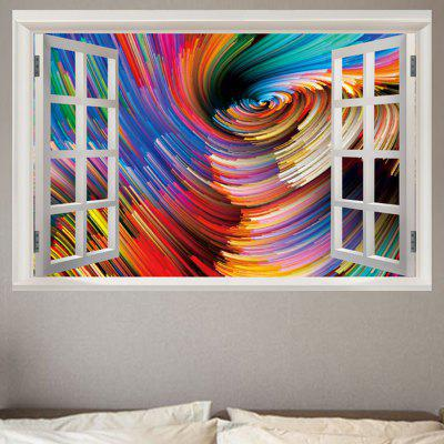 Fereastră de fereastră Abstract Vortex Printed Art.hot