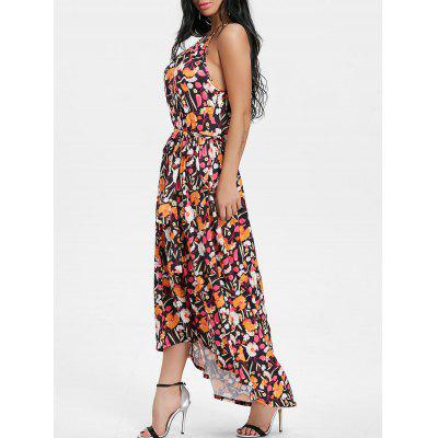Spaghetti Strap Floral Print Midi DressWomens Dresses<br>Spaghetti Strap Floral Print Midi Dress<br><br>Dresses Length: Mid-Calf<br>Material: Polyester, Spandex<br>Neckline: Spaghetti Strap<br>Package Contents: 1 x Dress<br>Pattern Type: Floral<br>Season: Spring, Fall<br>Silhouette: A-Line<br>Sleeve Length: Sleeveless<br>Style: Bohemian<br>Weight: 0.4500kg<br>With Belt: No