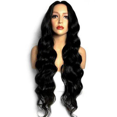 Center Parting Long Loose Wave Synthetic Wig