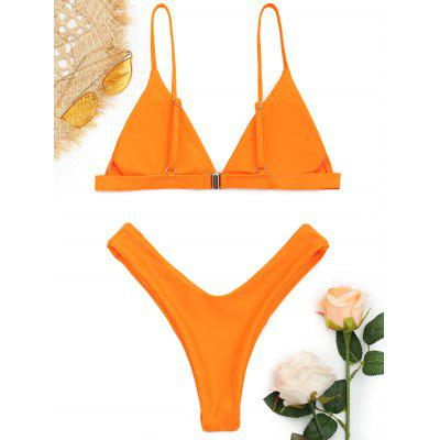 Spaghetti Straps Soft Pad Thong Bikini SetLingerie &amp; Shapewear<br>Spaghetti Straps Soft Pad Thong Bikini Set<br><br>Bra Style: Padded<br>Elasticity: Elastic<br>Gender: For Women<br>Material: Nylon, Polyester, Spandex<br>Neckline: Spaghetti Straps<br>Package Contents: 1 x Top  1 x Bottoms<br>Pattern Type: Solid<br>Support Type: Wire Free<br>Swimwear Type: Bikini<br>Waist: Low Waisted<br>Weight: 0.2000kg