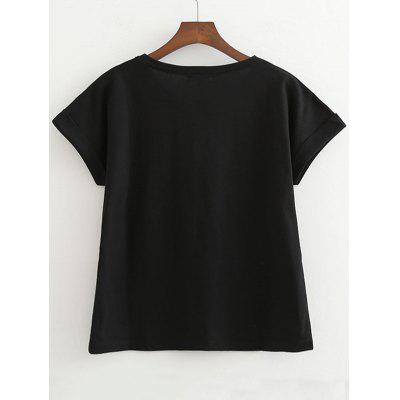 Bowknot Printed Cotton TopTees<br>Bowknot Printed Cotton Top<br><br>Collar: Round Neck<br>Material: Cotton, Polyester<br>Package Contents: 1 x Top<br>Pattern Type: Print<br>Seasons: Summer<br>Sleeve Length: Short<br>Style: Fashion<br>Weight: 0.2100kg
