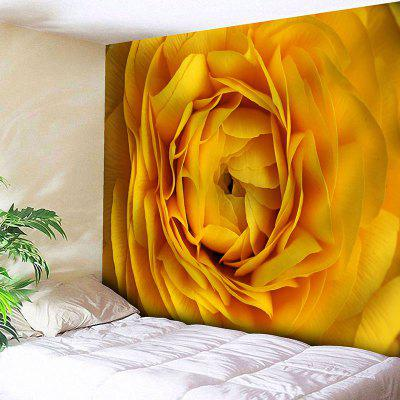 Valentine's Day Flower Print Wall Art Tapestry