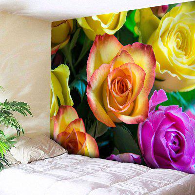 Valentine's Day Roses Print Wall Hanging Tapestry