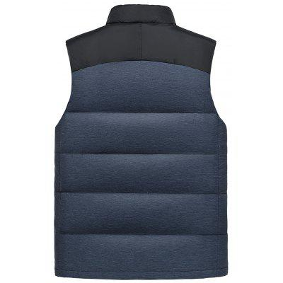 Stand Collar Color Block Zip Up Down WaistcoatWaistcoats<br>Stand Collar Color Block Zip Up Down Waistcoat<br><br>Closure Type: Zipper<br>Collar: Stand Collar<br>Material: Down, Polyester<br>Package Contents: 1 x Waistcoat<br>Shirt Length: Regular<br>Style: Fashion<br>Thickness: Thick<br>Weight: 0.5700kg