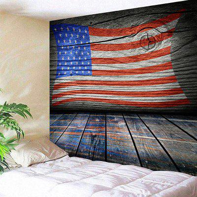 American Flag Print Wall Tapestry
