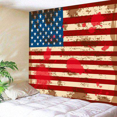 American Flag Pattern Wall Art Decor Hanging Tapestry