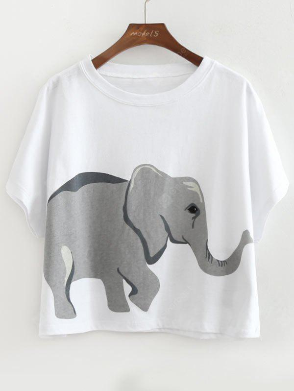 Elephant Loose Cotton Top