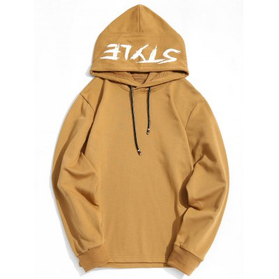 Style Graphic Side Zipper Hoodie