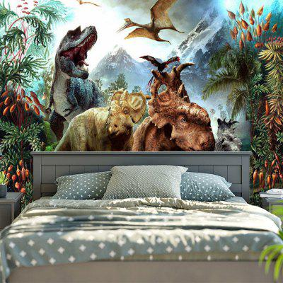 Dinosaurs World Wall Art Tapestry