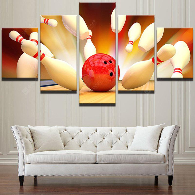 Шары для игры в боулинг Unframed Wall Art Canvas Paintings