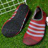 Water Surf Beach Flexible Water Aqua Shoes - WINE RED