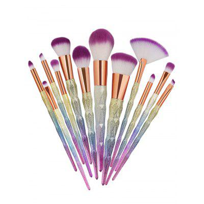 15Pcs Multifunctional High Quality Fiber Hiar Makeup Brush Set