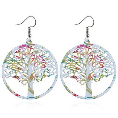 Life Trees Drop Earrings