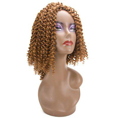 Short Twist Jerry Curly Braids Synthetic Hair Extensions short
