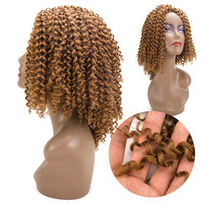 Short Twist Jerry Curly Braids Synthetic Hair Extensions
