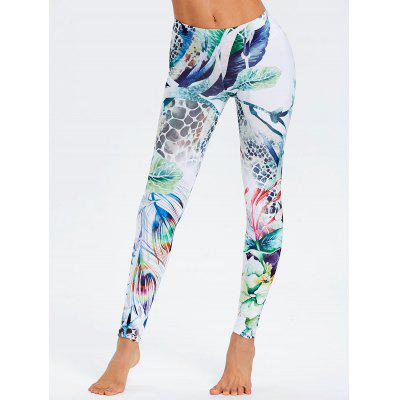 Forest Painting Leggings