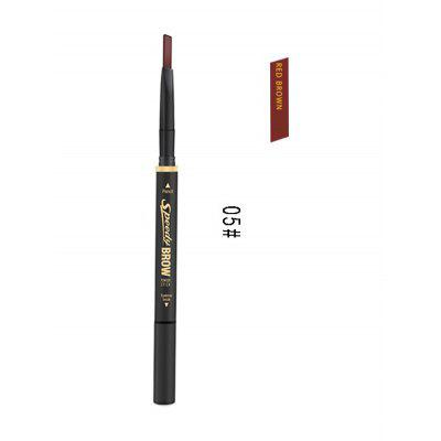 Professional Natural Color Long Wear Double Headed Eyebrow Pencil
