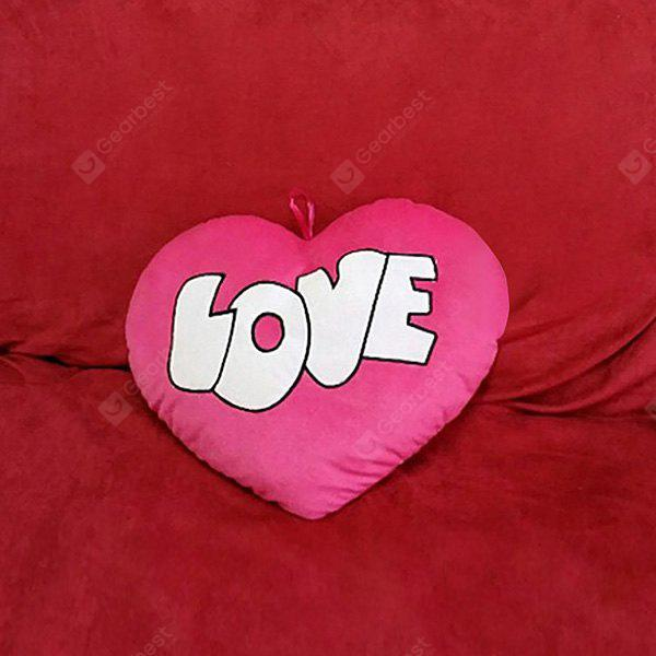 Valentines Day Heart Shape Love Pattern Pillow