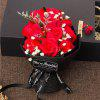 11 Pcs Valentine's Day Gift Soap Rose Flowers In A Box - RED