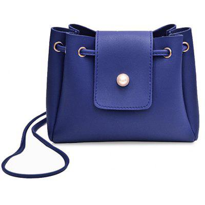 Faux Leather Small Cross-Body Bag