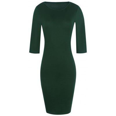 Fitted Pencil Bodycon Dress