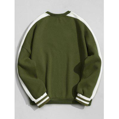 Fleece Striped Crew Neck SweatshirtMens Hoodies &amp; Sweatshirts<br>Fleece Striped Crew Neck Sweatshirt<br><br>Material: Polyester<br>Package Contents: 1 x Sweatshirt<br>Pattern Type: Striped<br>Shirt Length: Regular<br>Sleeve Length: Full<br>Style: Fashion<br>Weight: 0.5400kg