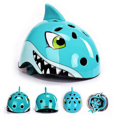Outdoor Shark Shape Children Riding Helmet
