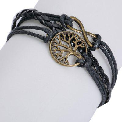 Tree of Life Infinite Layered Bracelet