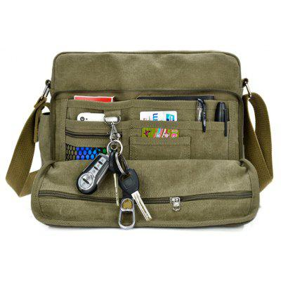 Canvas Multi Function Messenger Bag