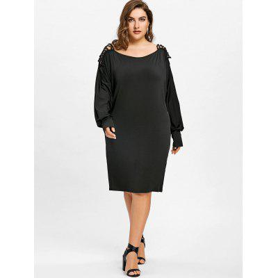 Plus Size Batwing Sleeve Criss Cross T-shirtPlus Size Tops<br>Plus Size Batwing Sleeve Criss Cross T-shirt<br><br>Collar: Scoop Neck<br>Material: Polyester<br>Package Contents: 1 x T-shirt<br>Pattern Type: Solid<br>Season: Fall, Winter, Spring<br>Shirt Length: Long<br>Sleeve Length: Full<br>Sleeve Type: Batwing Sleeve<br>Style: Casual<br>Weight: 0.4500kg
