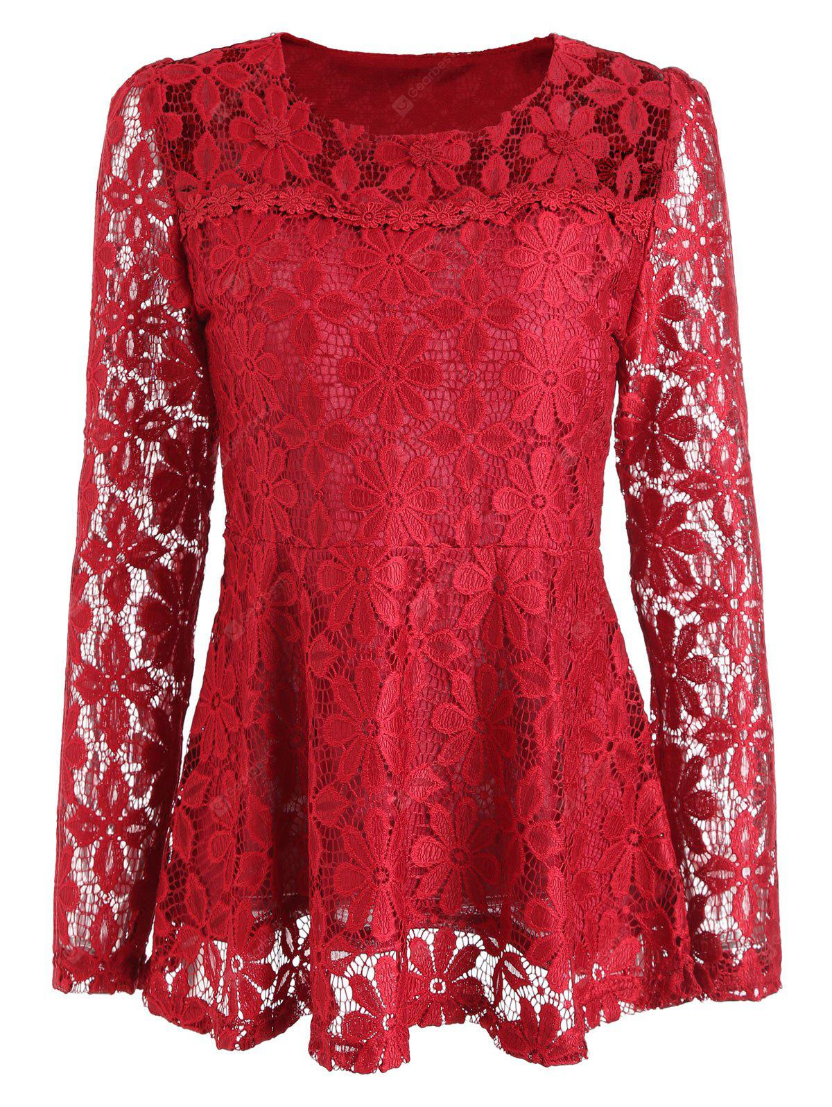 RED, Apparel, Women's Clothing, Blouses