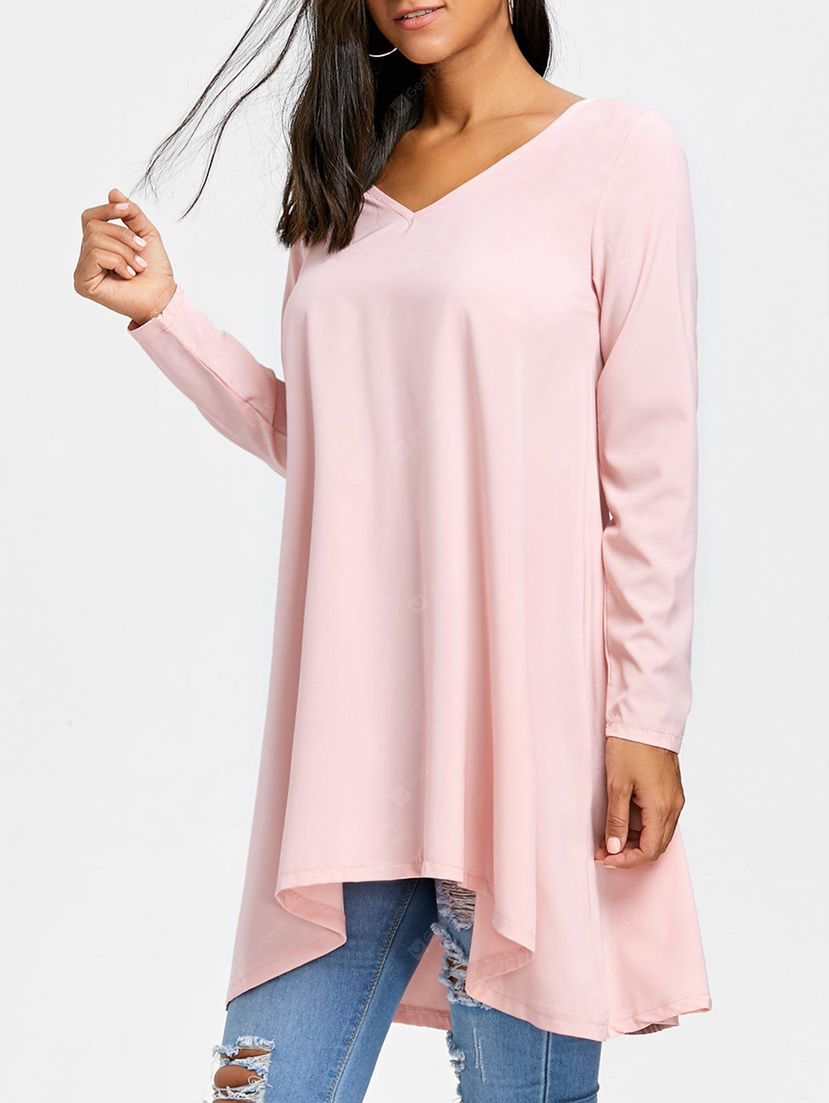 Batwing Sleeve High Low T-shirt