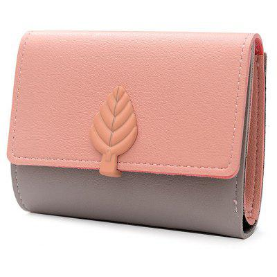 Leaf PU Leather WalletWallets<br>Leaf PU Leather Wallet<br><br>Closure Type: Snap Closure<br>Gender: For Women<br>Height: 11.5CM<br>Length: 9.5CM<br>Main Material: PU<br>Package Contents: 1 x Wallet<br>Pattern Type: Solid<br>Style: Fashion<br>Wallets Type: Mini Wallets<br>Weight: 0.2000kg<br>Width: 1CM