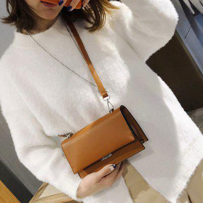 Flap PU Leather Minimalist Crossbody BagCrossbody Bags<br>Flap PU Leather Minimalist Crossbody Bag<br><br>Closure Type: Cover<br>Gender: For Women<br>Handbag Size: Small(20-30cm)<br>Handbag Type: Crossbody bag<br>Main Material: PU<br>Occasion: Versatile<br>Package Contents: 1 x Crossbody Bag<br>Package Size(L x W x H): 30.00 x 5.00 x 20.00 cm / 11.81 x 1.97 x 7.87 inches<br>Pattern Type: Solid<br>Size(CM)(L*W*H): 21*7*13CM<br>Style: Fashion<br>Weight: 0.6000kg
