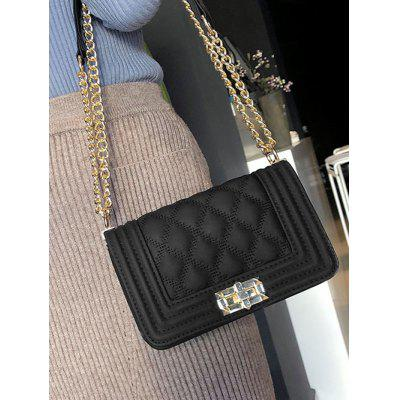 Quilted Twist Lock Faux Leather Crossbody BagCrossbody Bags<br>Quilted Twist Lock Faux Leather Crossbody Bag<br><br>Closure Type: Hasp<br>Gender: For Women<br>Handbag Size: Small(20-30cm)<br>Handbag Type: Crossbody bag<br>Main Material: PU<br>Occasion: Versatile<br>Package Contents: 1 x Crossbody Bag<br>Pattern Type: Solid<br>Size(CM)(L*W*H): 20*8*14CM<br>Style: Fashion<br>Weight: 0.6000kg