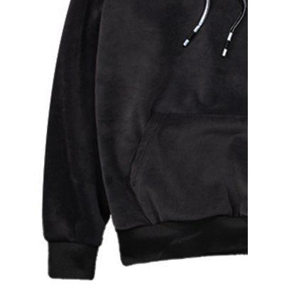 Embroidered Drawstring Pullover Sherpa Hoodie TwinsetMens Hoodies &amp; Sweatshirts<br>Embroidered Drawstring Pullover Sherpa Hoodie Twinset<br><br>Clothes Type: Hoodie<br>Material: Polyester, Spandex<br>Occasion: Sports, Going Out, Daily Use, Casual<br>Package Contents: 1 x Hoodie  1 x Pants<br>Patterns: Letter<br>Shirt Length: Regular<br>Sleeve Length: Full<br>Style: Fashion<br>Thickness: Thick<br>Weight: 1.4000kg