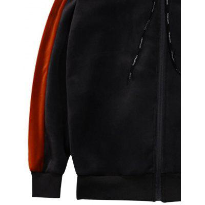 Color Block Drawstring Zip Up Sherpa Hoodie TwinsetMens Hoodies &amp; Sweatshirts<br>Color Block Drawstring Zip Up Sherpa Hoodie Twinset<br><br>Closure Type: Zipper<br>Clothes Type: Hoodie Jacket<br>Material: Polyester, Spandex<br>Occasion: Sports, Going Out, Daily Use, Casual<br>Package Contents: 1 x Hoodie  1 x Pants<br>Patterns: Color Block<br>Shirt Length: Regular<br>Sleeve Length: Full<br>Style: Fashion<br>Thickness: Thick<br>Weight: 1.4100kg